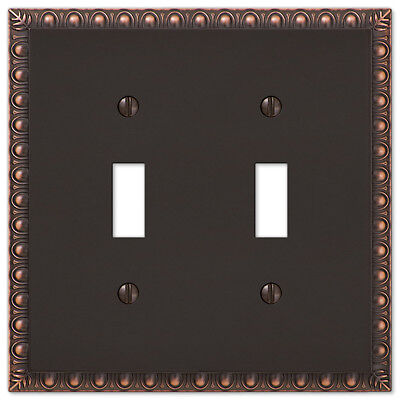New Switch Plate GFI Outlet Cover Rocker Toggle Wall Plate - Oil Rubbed Bronze