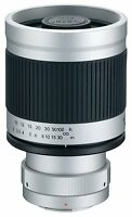 Kenko 400mm F/8 Mirror Lens (t-mount) For Olympus / Panasonic 4/3 Dslr