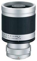 Kenko 400mm F/8 Mirror Lens (t-mount) For Olympus / Panasonic 4/3 Dslr