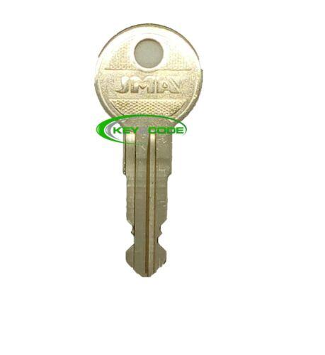YELLOW TOP #186 Jungheinrich 701 forklift key