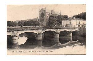 55 - cpa - BAR EL DUQUE - Puente y l'iglesia San Jean (A3399)