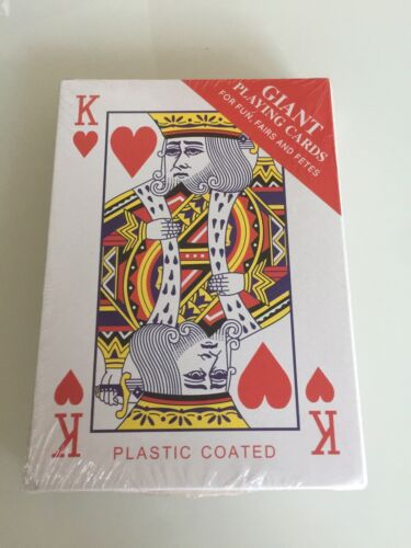 Pack of Giant Playing Cards  For Fun Fairs and Fetes