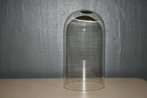 """Replacement Clear Glass Dome Cloche Clock or Display No Base 10/""""H x 5 1//2/""""W 9566"""