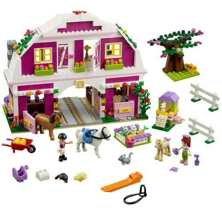 Lego friends farm house, set 41039, good condition, full set, no box