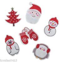 Groves Large Felt Christmas Xmas Character Motif Applique Embellishment Sew on