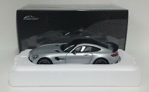 ALMOST-REAL-1-18-MERCEDES-AMG-GTR-2017-SILVER-MODELLINO-DIECAST-METALLO-APRIBILE