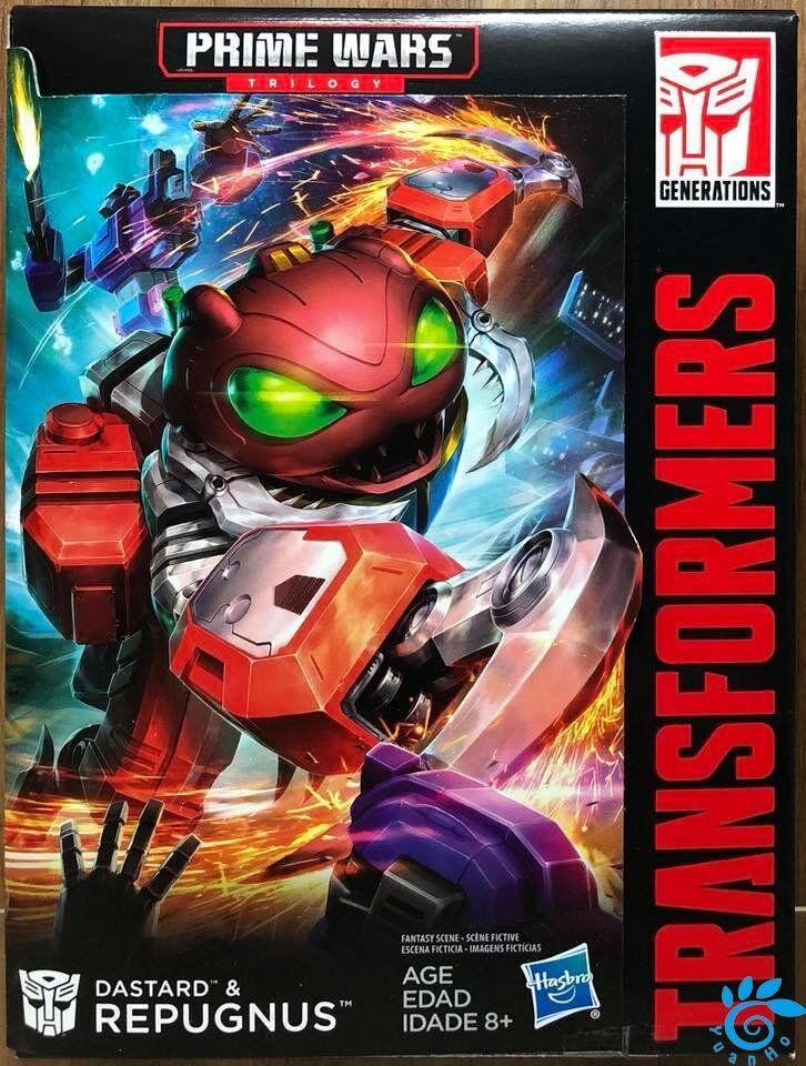 Hasbro Transformers Prime Wars Trilogy Dastard & Repugnus Titans Return Limited