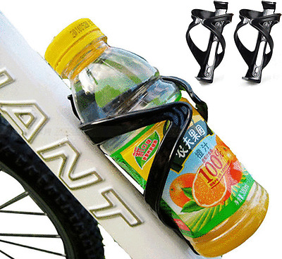Cycling Bike Bicycle Drink Water Bottle Cup Holder Mount Cage Polycarbonate #T