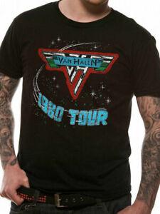 Van-Halen-Invasion-1980-Tour-T-Shirt-Official-New-S-M-L-XL