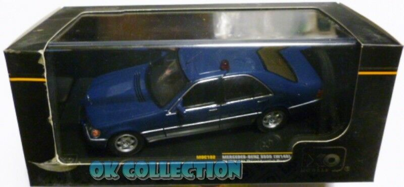 IXO 1:43_ International Police MERCEDES-BENZ S600 RUSSIAN PRESIDENTIAL 1993