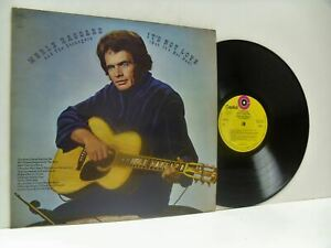 MERLE HAGGARD AND THE STRANGERS it's not love (but it's not bad) LP, E-ST 11127