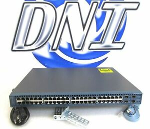 Cisco-WS-C2360-48TD-S-48-Port-GbE-4x-10GbE-SFP-Uplink-Ports-Catalyst-Switch-HSS