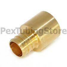 25 34 Pex X 34 Female Sweat Adapters Brass Crimp Fittings