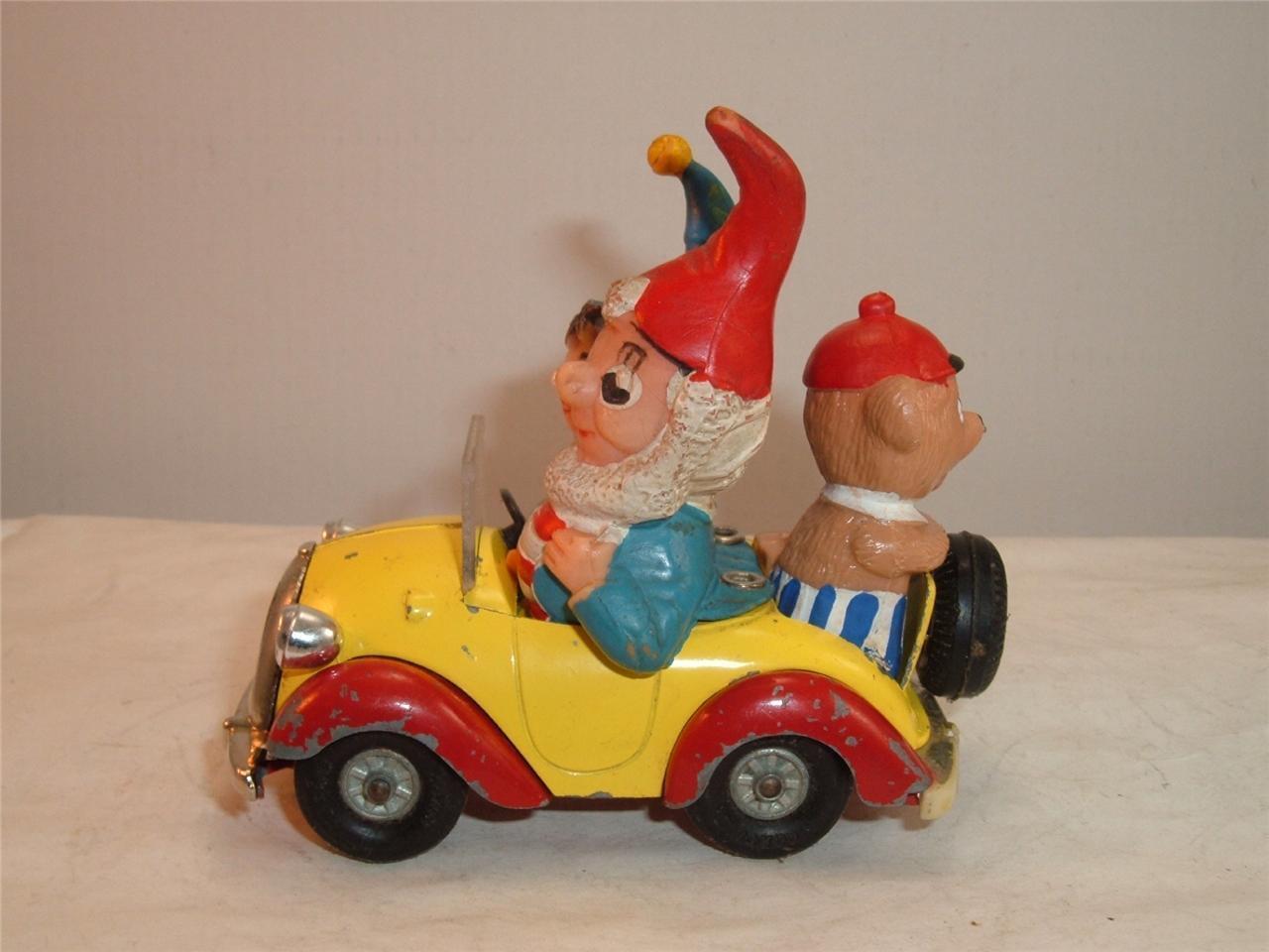 CORGI NODDY'S CAR BIG EARS & TEDDY NEW FRONT & HEADLIGHTS SCROLL DOWN 4 PHOTOS