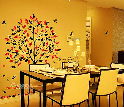 """Wall Decor Decal Sticker Removable vinyl large tree 70"""""""