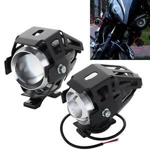2X-12W-U5-Motorcycle-Motorbike-Headlight-LED-Fog-Spot-Lights-Bulb-Angle-Eye-Lamp