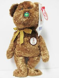 417b1091c06 Image is loading Ty-Beanie-Baby-034-Brazil-034-the-World-