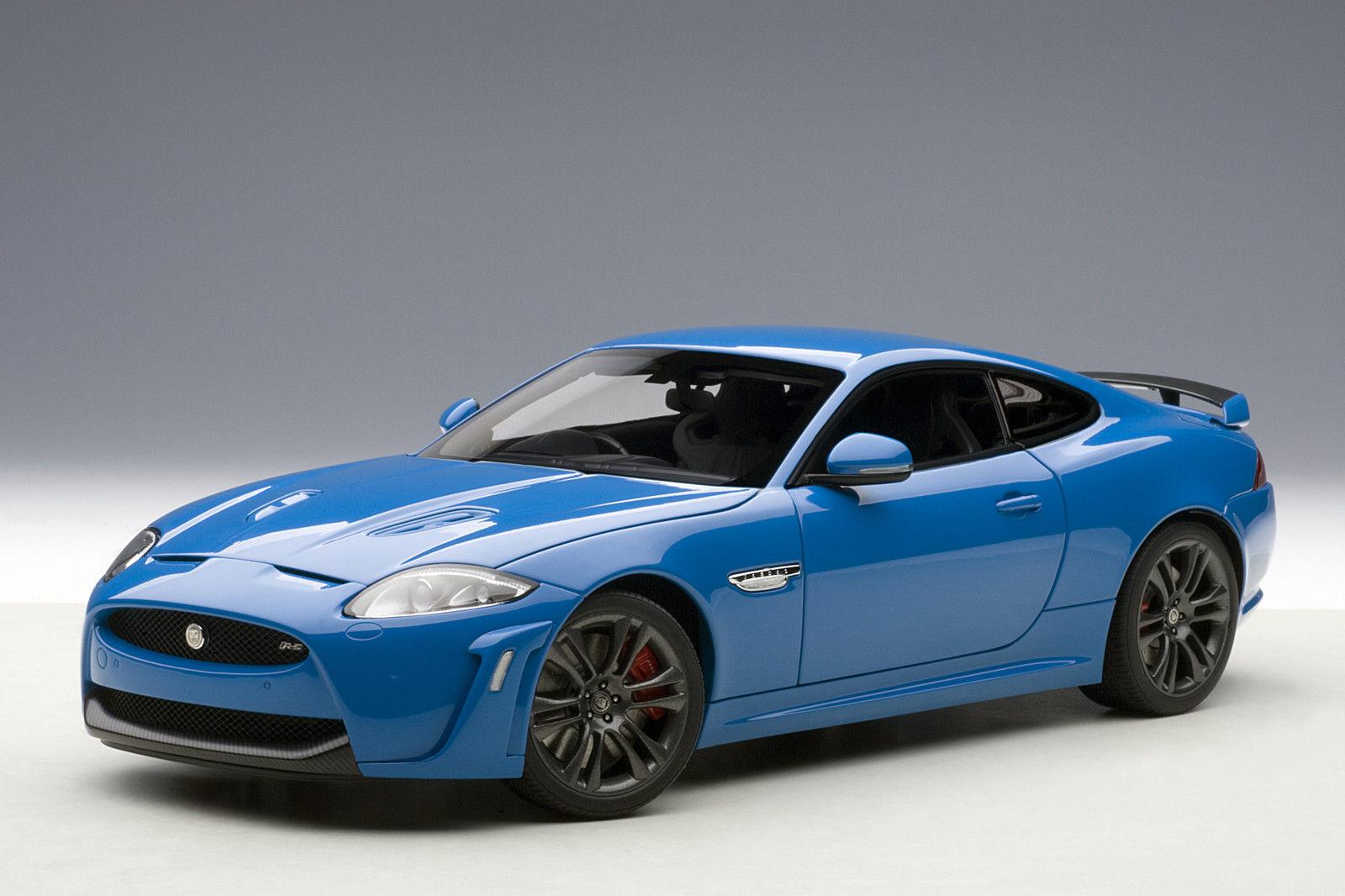 1 18 Autoart-JAGUAR XKR-S (French blu RACING)