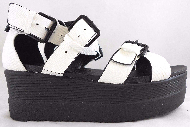 Wanted Twizzler White Platform 8.5 Shoes For Women Size 8.5 Platform 65c259