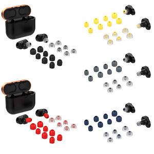 Silikon-Ear-Buds-Tips-Earphone-Cover-Set-fuer-Sony-WF-1000XM3-Kopfhoerer-Ohrhoerer
