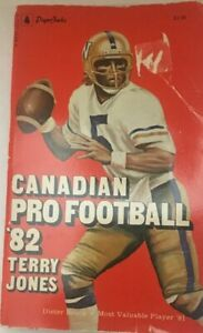 Canadian-PRO-FOOTBALL-82-CFL-DIETER-BROCK-COVER-by-Terry-Jones