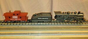 Marx Plastic Steam Engine Train Set With Box. 4B-21325M