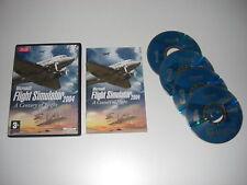 2004 Simulatore di volo MICROSOFT un secolo di volo PC CD ROM Gioco Base fs2004