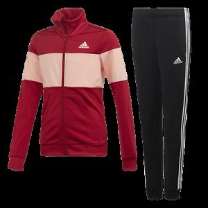 Details zu Adidas Yg Pes Ts actmar glopnk Trainingsanzug Kinder Sportanzug