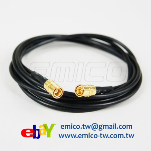 RG-174 L:1.5M -CA142 1 PCS SMB Male Gold to SMB Male Gold Cable Assembly