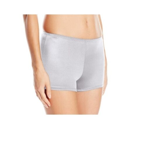 Vassarette Women/'s Undershapers Light Control Boyshorts 42001 White Ice XL//8