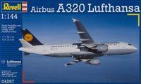 Revell Germany 1/144 Airbus A320 Lufthansa Model Kit Rvl04267 80-4267 04267