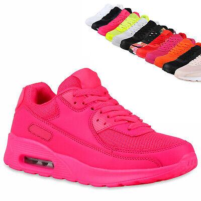 Damen Herren Laufschuhe Profilsohle Sportschuhe Neon Turnschuhe 810581 Trendy | eBay
