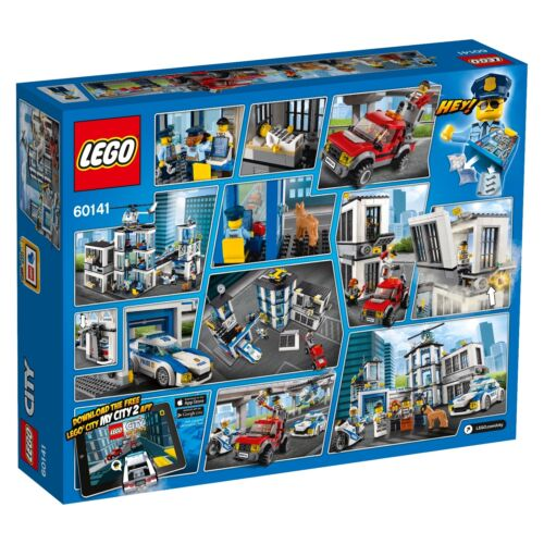 LEGO® City 60141 Polizeiwache NEU OVP/_ Police Station NEW MISB NRFB