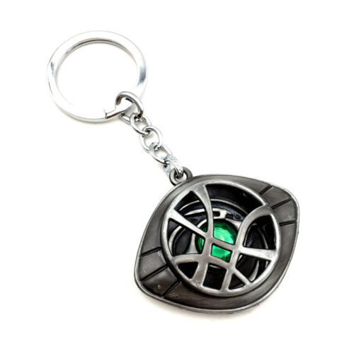 Marvel Avengers Doctor Strange Eye of Agamotto Alloy Key Chains Keychain Keyring