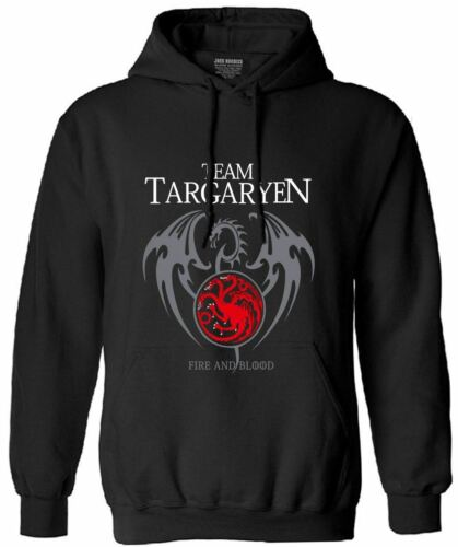 team targaryen men long sleeve fleece hoodies 2017 autumn funny bodybuilding pp