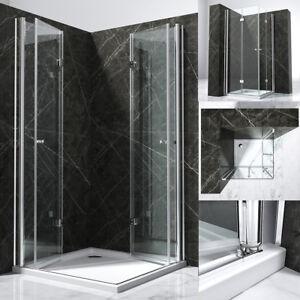 duschkabine eckeinstieg dusche duschwand duschabtrennung 180 faltt r nano kb06k ebay. Black Bedroom Furniture Sets. Home Design Ideas