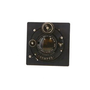 Vintage-Carl-Zeiss-Jena-18cm-f-6-8-Doppel-Amatar-w-Dial-Compur-amp-Board-UG