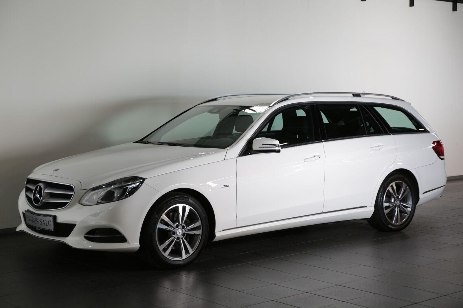 Mercedes-Benz E350 3,0 BlueTEC Edition E stc. aut.