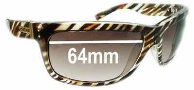 SFX Replacement Sunglass Lenses fits Von Zipper Spazz 59mm Wide