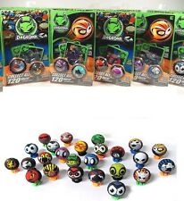 DaGeDar Balls Pack 2-Balls 2-Stands 2-Trading Cards Randomly Selected Steel Core