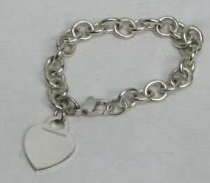 5b295380d Image is loading AUTHENTIC-TIFFANY-amp-CO-STERLING-SILVER-CLASSIC-HEART-