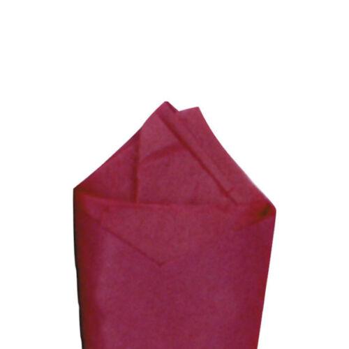 "24 Sheets 20 x 30/"" Cabernet Quality Premium Grade Color Tissue Paper Dark Red"