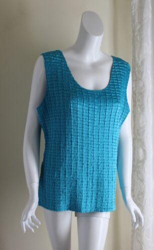 Sere Nada -Sz X XL 1X Turquoise Crinkled Art-to-We