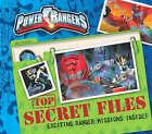 Disney  Power Rangers  Top Secret Files by Parragon (Hardback, 2008)