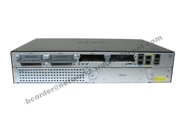 Cisco 2911-VSEC/K9 Voice/sécurité CISCO 2911-VSEC/K9 Routeur C2911-VSEC/K9