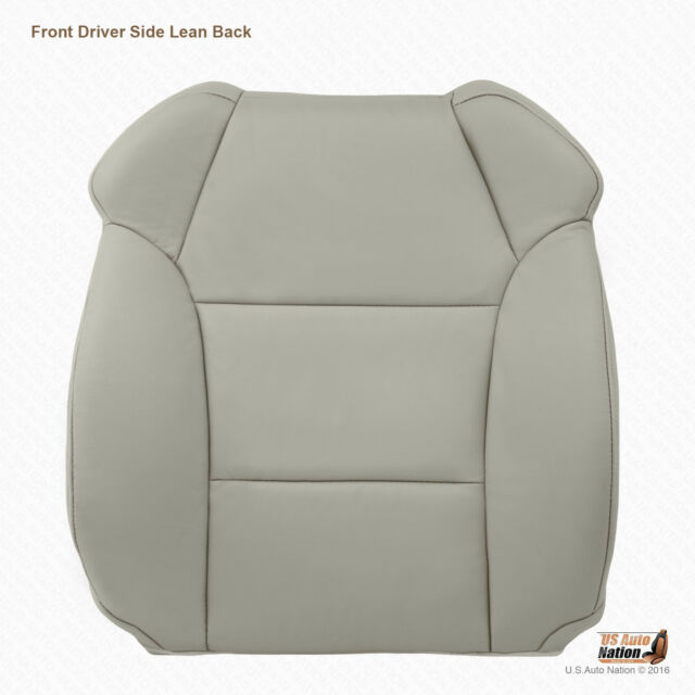 Front Driver Lean Back Synth Leather Cover In Gray For