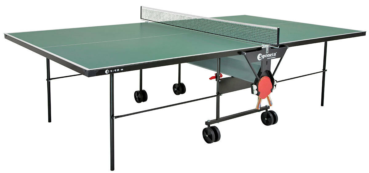 Table Tennis Table Sponeta HobbyLine Outdoor Weatherproof Spacesaver S1-12e