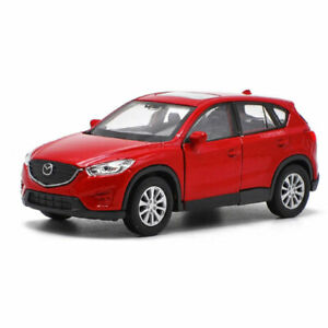 Mazda-CX-5-SUV-1-36-Die-Cast-Modellauto-Auto-Spielzeug-Model-Sammlung-Rot