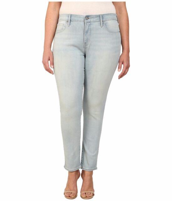 d56da1b7 Levis Plus Size 310 Super SKINNY Jeans Womens Golden Daze Shaping ...