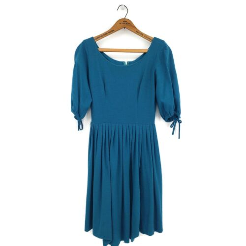 Vintage Candy Jones Dress Womens Small? Turquoise